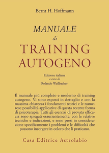 Libro Manuale di training autogeno Bernt Hoffmann