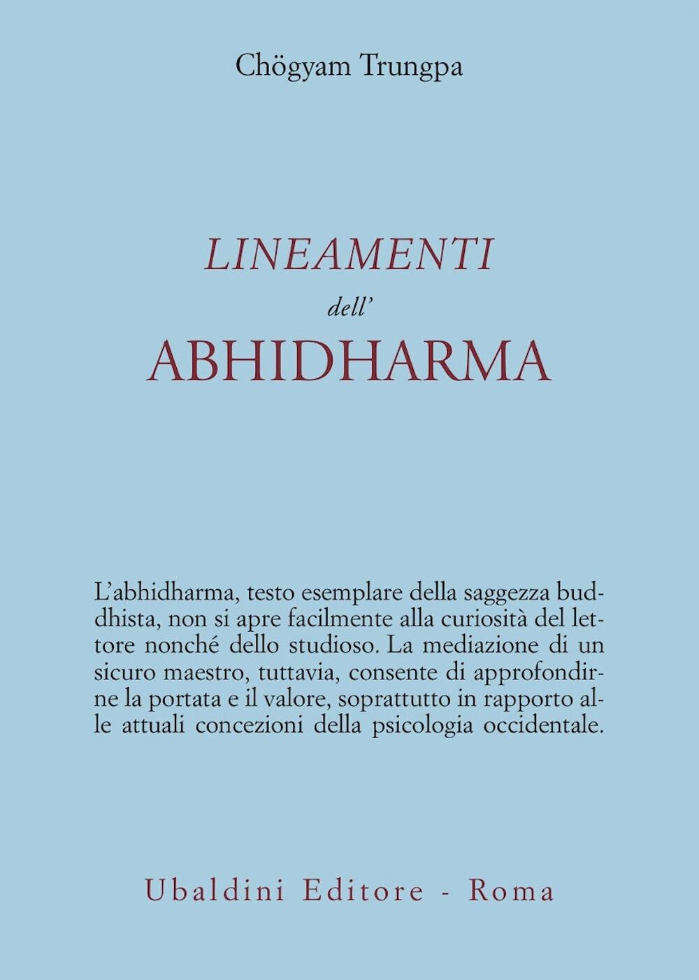 Lineamenti dell'Abhidharma