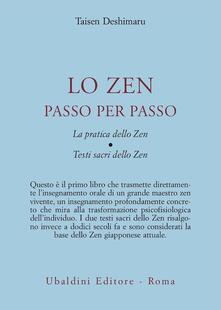 Listadelpopolo.it Lo zen passo per passo. La pratica dello zen. Testi sacri dello zen Image