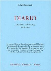 Diario (settembre-ottobre 1973-aprile 1975)