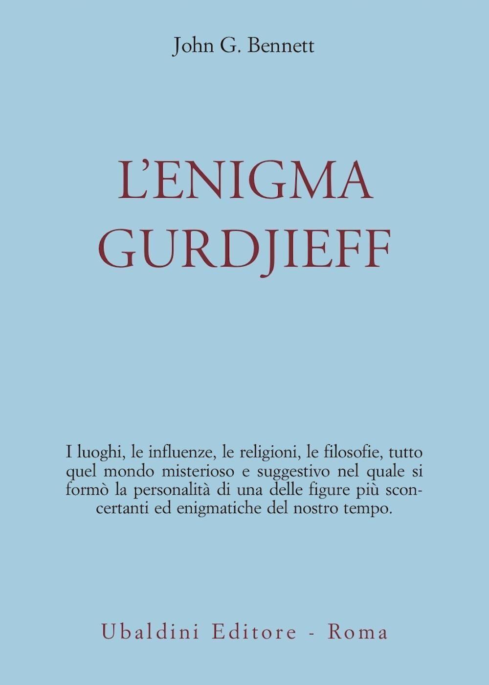 L' enigma Gurdjieff