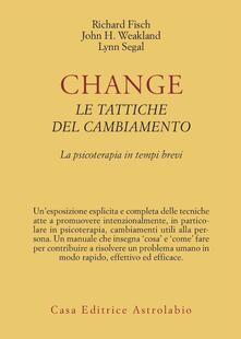 Vastese1902.it Change: le tattiche del cambiamento. La psicoterapia in tempi brevi Image