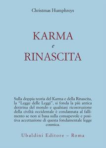 Libro Karma e rinascita Christmas Humphreys