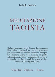 Meditazione taoista - Isabelle Robinet - copertina