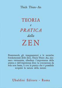 Libro Teoria e pratica dello zen Tien An Thich
