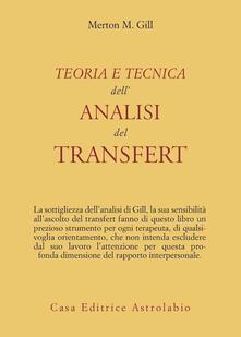 Listadelpopolo.it Teoria e tecnica dell'analisi del transfert Image