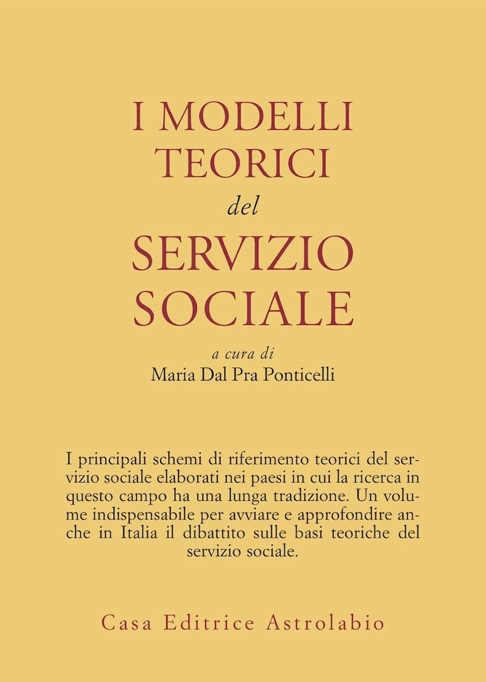 I modelli teorici del servizio sociale