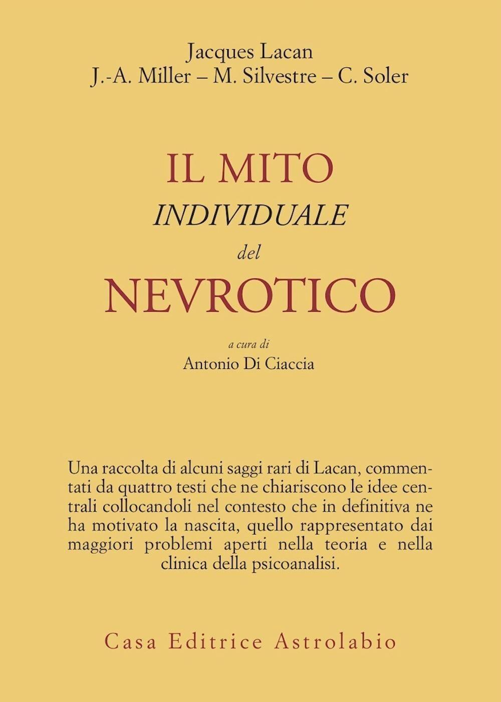 Il mito individuale del nevrotico e altri saggi