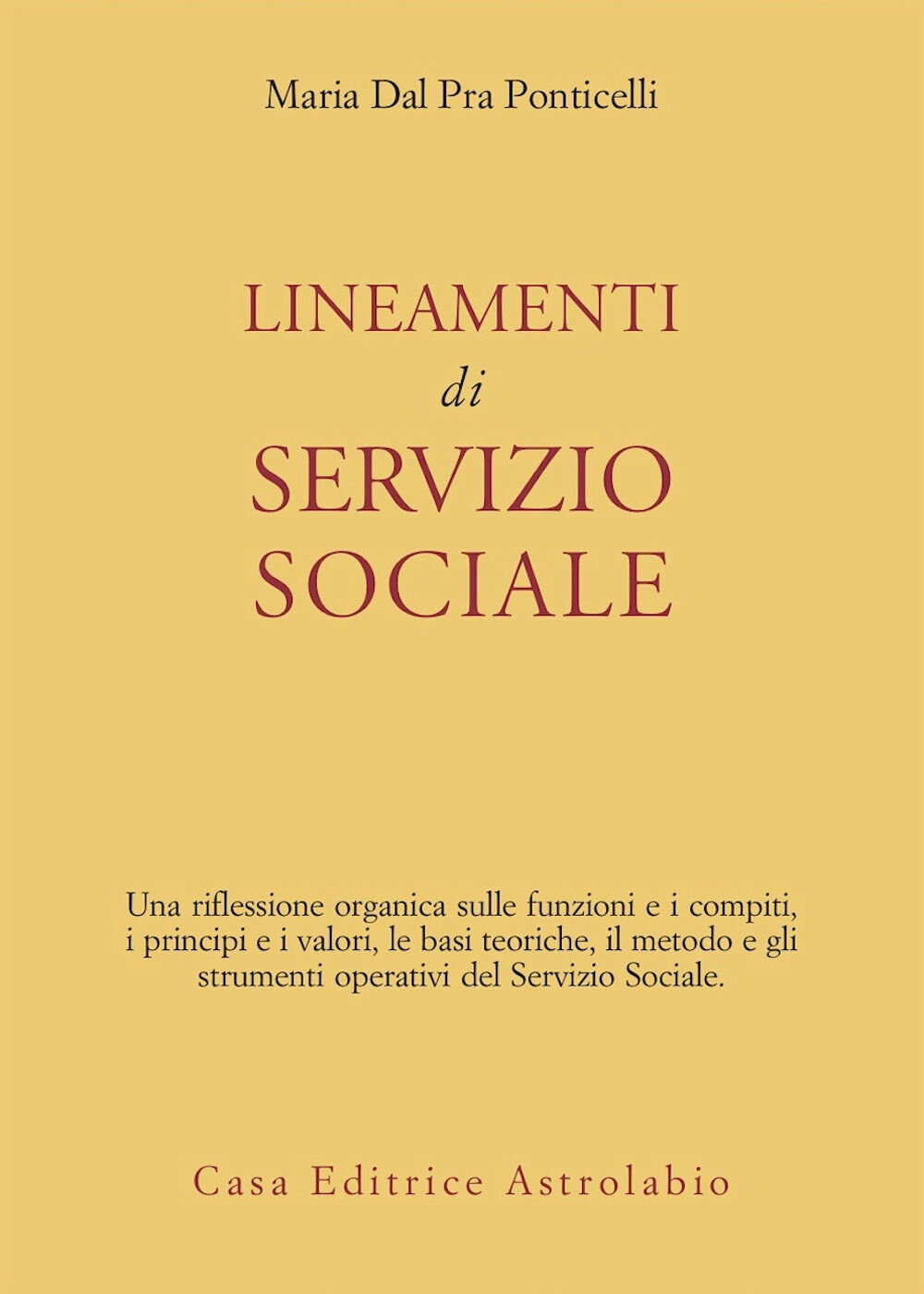 Lineamenti di servizio sociale