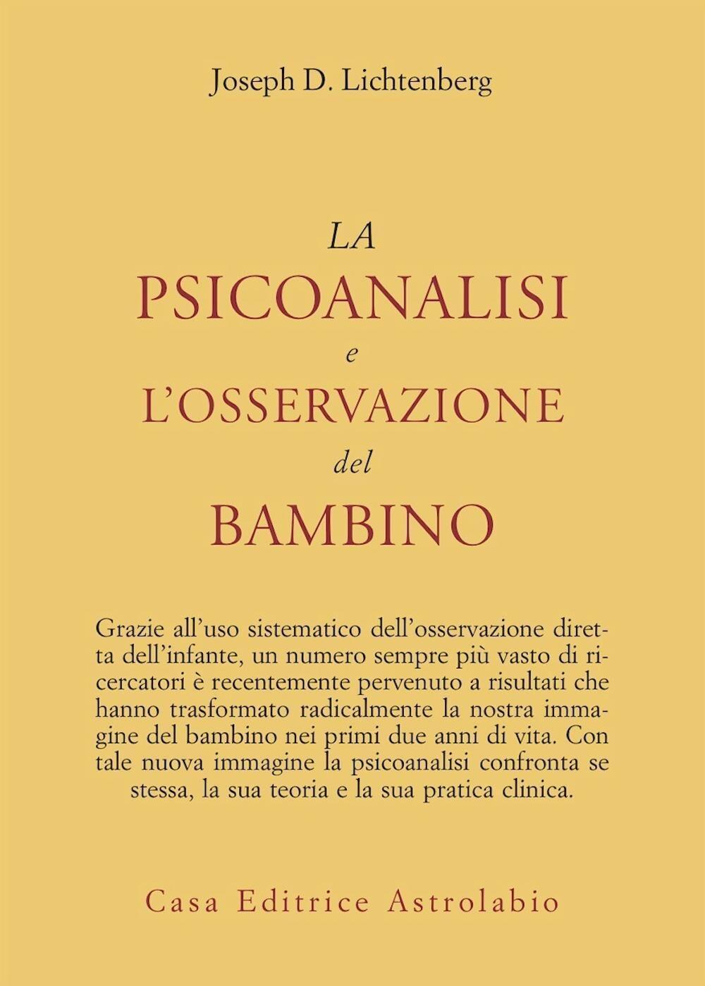 La psicoanalisi e l'osservazione del bambino