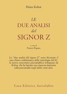 Antondemarirreguera.es Le due analisi del signor Z Image