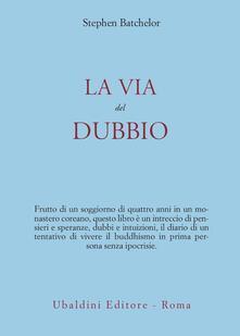 La via del dubbio - Stephen Batchelor - copertina