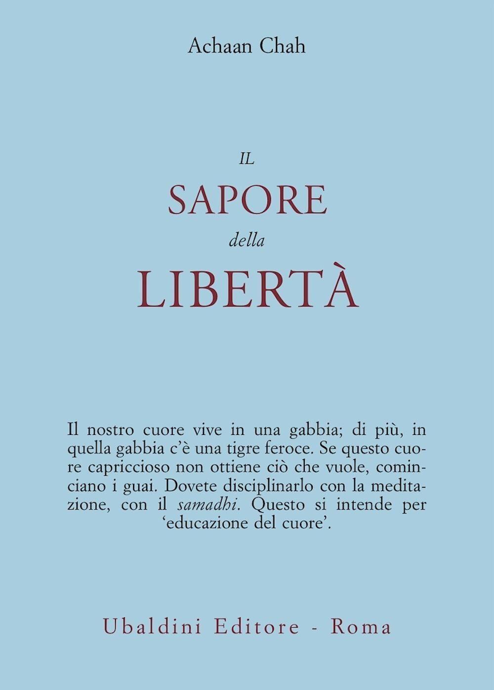 Il sapore della libertà