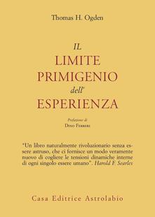 Il limite primigenio dellesperienza.pdf