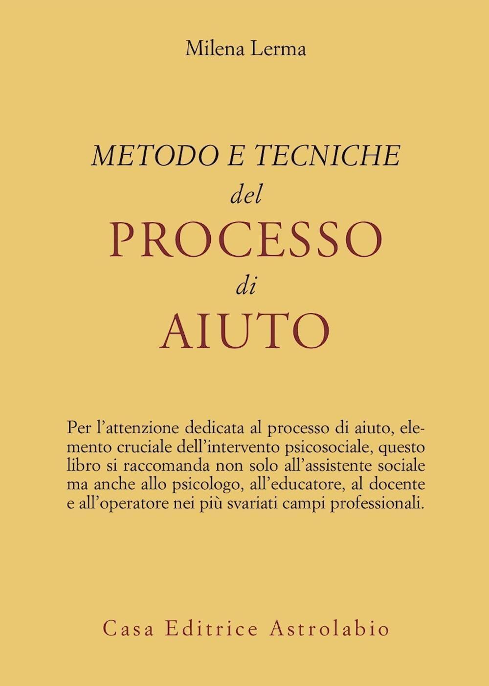 Metodo e tecniche del processo di aiuto