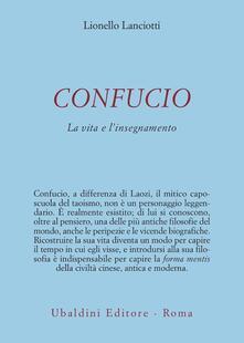 Camfeed.it Confucio. La vita e l'insegnamento Image