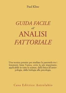 Guida facile all'analisi fattoriale