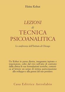 Antondemarirreguera.es Lezioni di tecnica psicoanalitica. Le conferenze dell'Istituto di Chicago Image