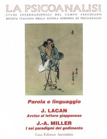 Filippodegasperi.it La psicoanalisi. Vol. 26: Parola e linguaggio. Image