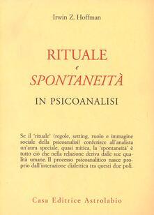 Rituale e spontaneità in psicoanalisi.pdf