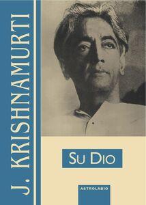 Libro Su Dio Jiddu Krishnamurti