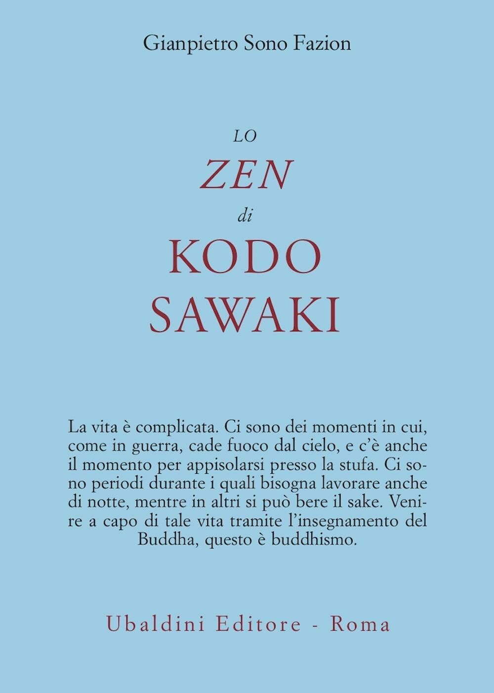 Lo zen di Kodo Sawaki