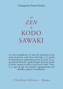 Libro Lo zen di Kodo Sawaki G. Pietro Sono Fazion