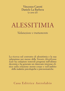 Libro Alessitimia. Valutazione e trattamento