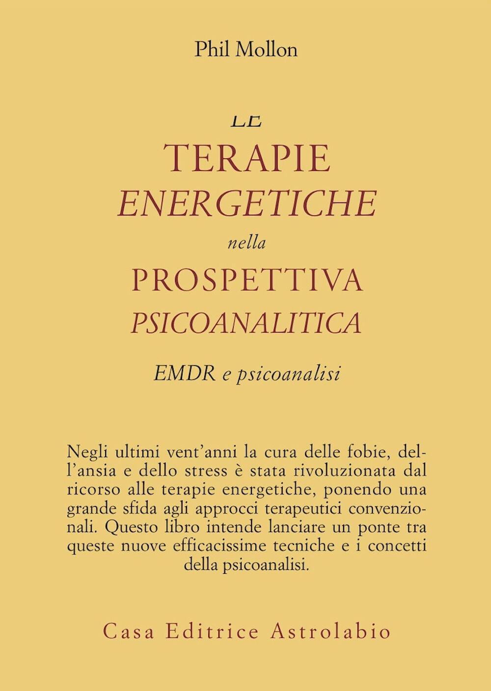 Le terapie energetiche nella prospettiva psicoanalitica. EMDR e psicoanalisi