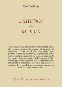 Libro L' estetica della musica Carl Dahlhaus