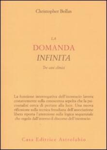 Ristorantezintonio.it La domanda infinita. Tre casi clinici Image