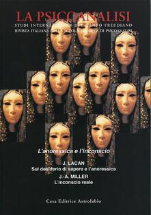 Festivalpatudocanario.es La psicoanalisi. Vol. 50: L'anoressica e l'inconscio. Image