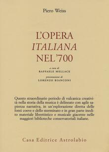 Amatigota.it L' opera italiana nel '700 Image
