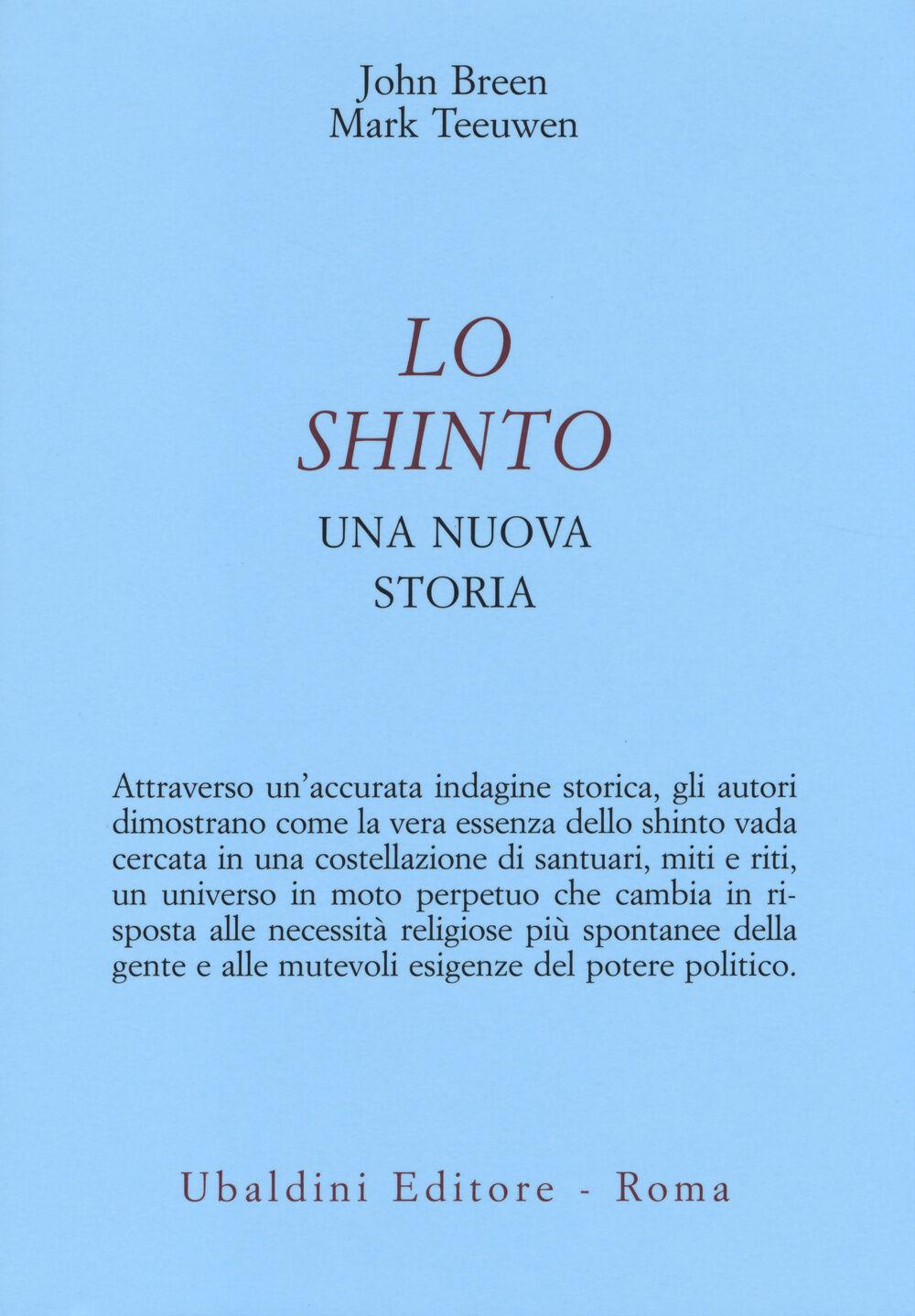 Lo shinto. Una nuova storia