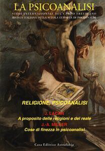 La psicoanalisi. Vol. 58: Religione, psicoanalisi.
