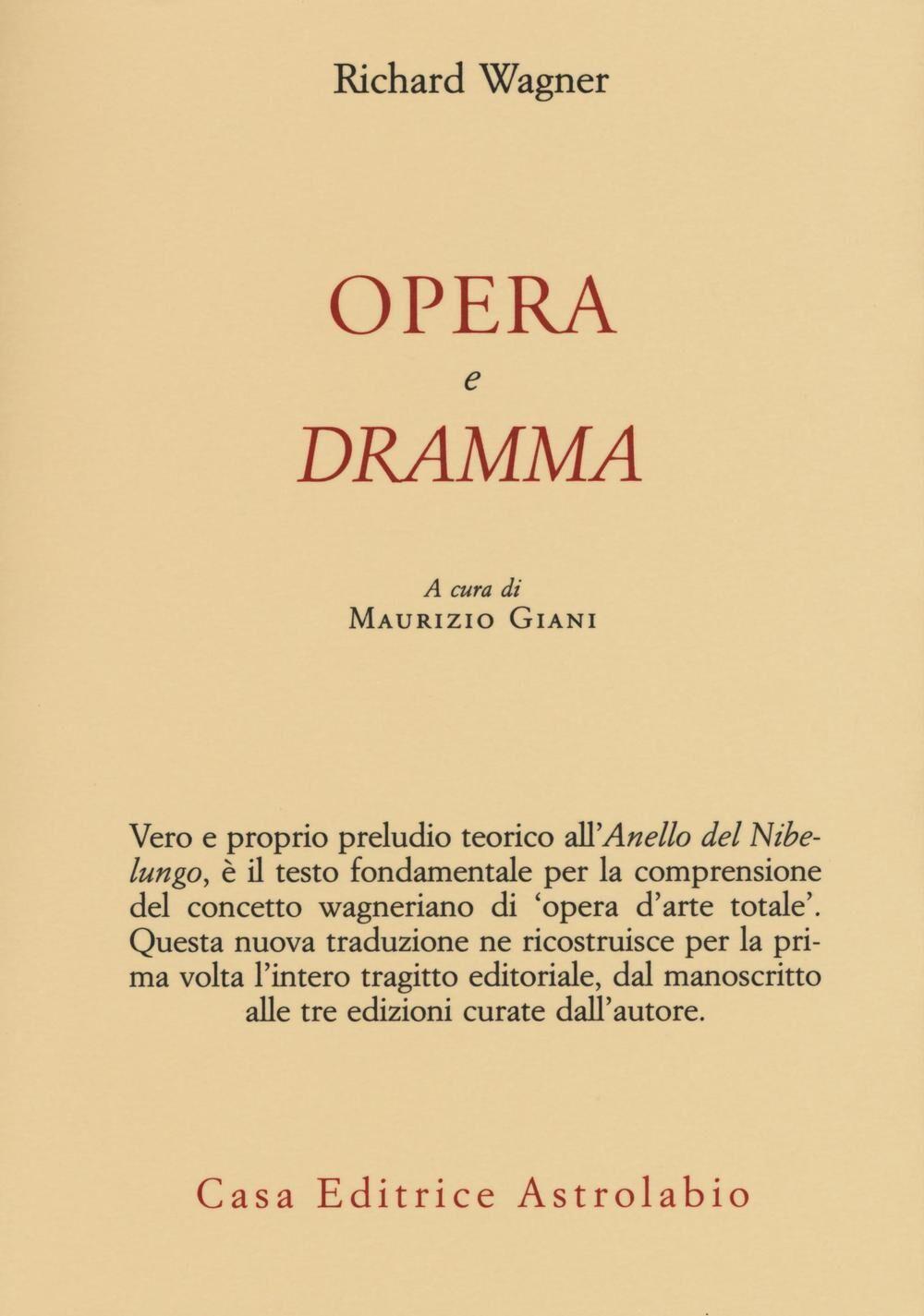 Opera e dramma