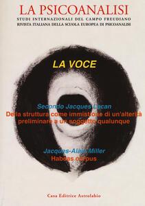 La psicoanalisi. Vol. 60: voce, La.