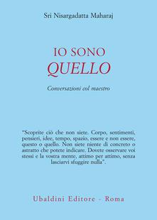 Io sono quello. Conversazioni con il maestro - Sergio Trippodo,Maharaj Nisargadatta - ebook