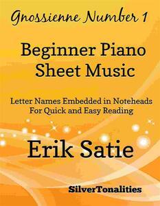 Gnossienne Number 1 Beginner Piano Sheet Music