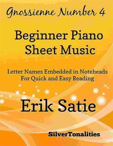 Gnossienne Number 4 Beginner Piano Sheet Music