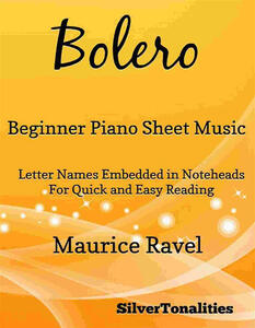 Bolero Beginner Piano Sheet Music