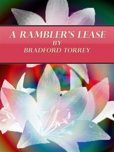 A Rambler's lease