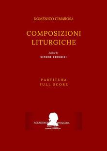 Composizioni liturgiche - Simone Perugini,Domenico Cimarosa - ebook