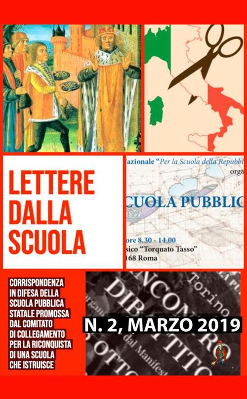 Image of Lettere dalla scuola. Vol. 2: Corrispondenza in difesa della scuola pubblica statale.
