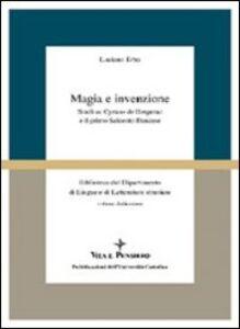 Magia e invenzione. Studi su Cyrano de Bergerac e il primo Seicento francese