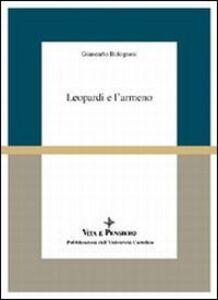 Libro Leopardi e l'armeno Giancarlo Bolognesi