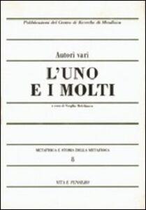 Libro Metafisica e storia della metafisica. Vol. 8: L'uno e i molti.