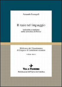 Il reale nel linguaggio. Indicalità e realismo nella semiotica di Peirce
