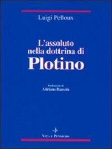 L' assoluto nella dottrina di Plotino