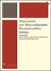 Menae patricii cum Thoma referendario. De scientia politica dialogus